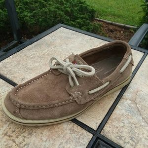 Adidas Rockport Tan Casual Loafer Mens Shoes …